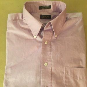 Men's Arrow Fairfield Pinpoint Shirt 17 36/37